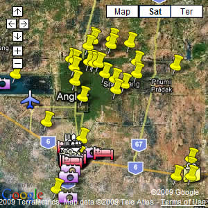 click for our interactive map of Angkor