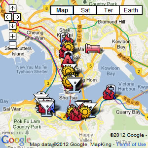 click for our interactive map of Hong Kong