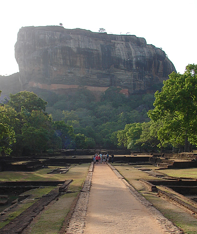 Sigiriya Rock, Sri Lanka  (c) 2010 by John Goss